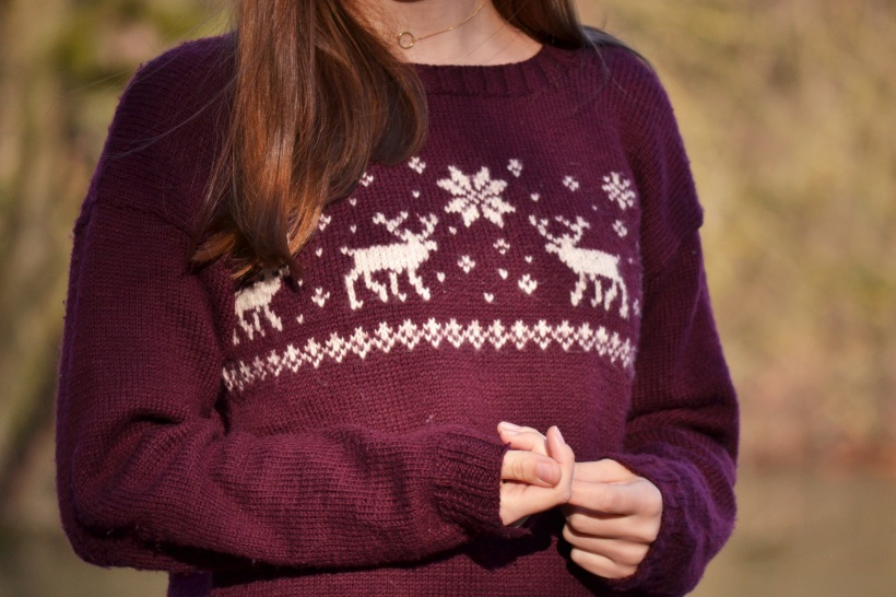 Easy knitting pattern for a Norwegian Sweater