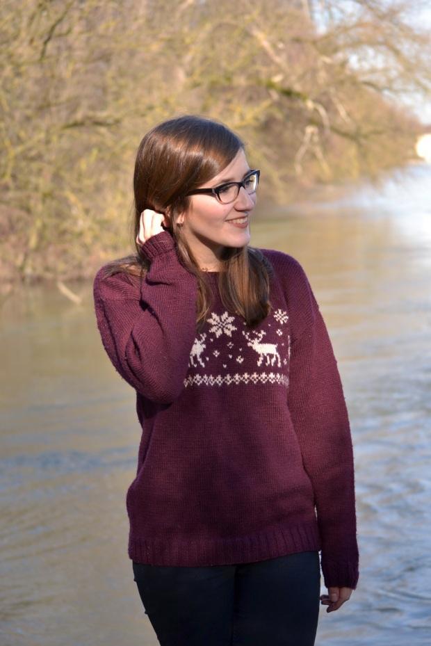 Easy Norwegian Sweater