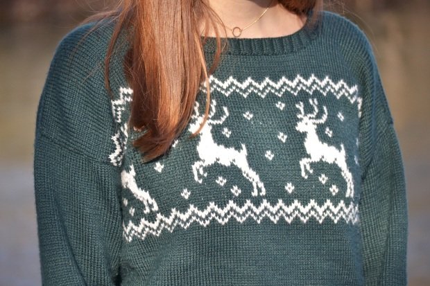 The first Norwegian Sweater I knitted